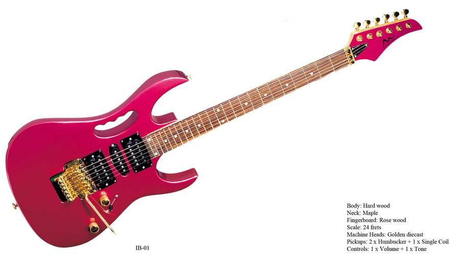 Electric Guitar Stencil Electric Guitar Show